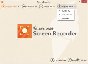 Icecream Screen Recorder Audio Recorder