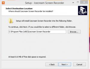 Icecream Screen Recorder installation step 2