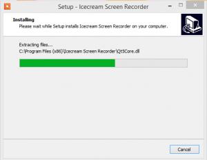 Icecream Screen Recorder installation step 3