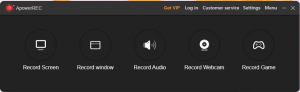 Apower screen Recorder StartUp