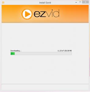 ezVid Installation Final Step