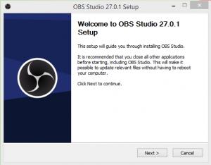 OBS Studio Installation Step 1