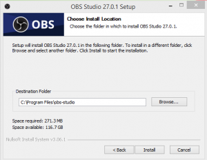OBS Studio Installation Step 2