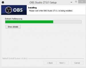OBS Studio Installation Step 3