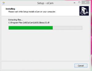 Ocam Screen Recorder Installation Step 2