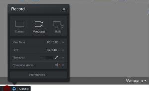 Screencast-O-Matic Webcam Recording