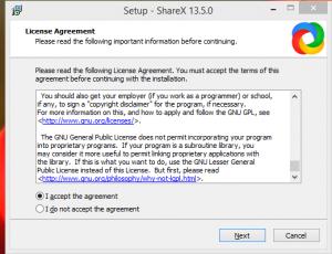 SHareX Installation Step 2