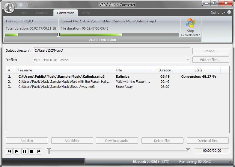VSDC Audio Converter