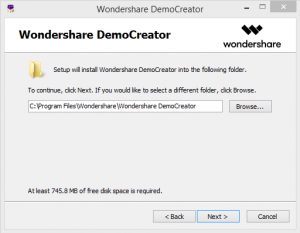 Wonder share Democreator step 2