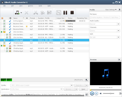 Xilisoft Pro Audio Converter