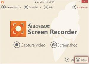 ice cream screen recording