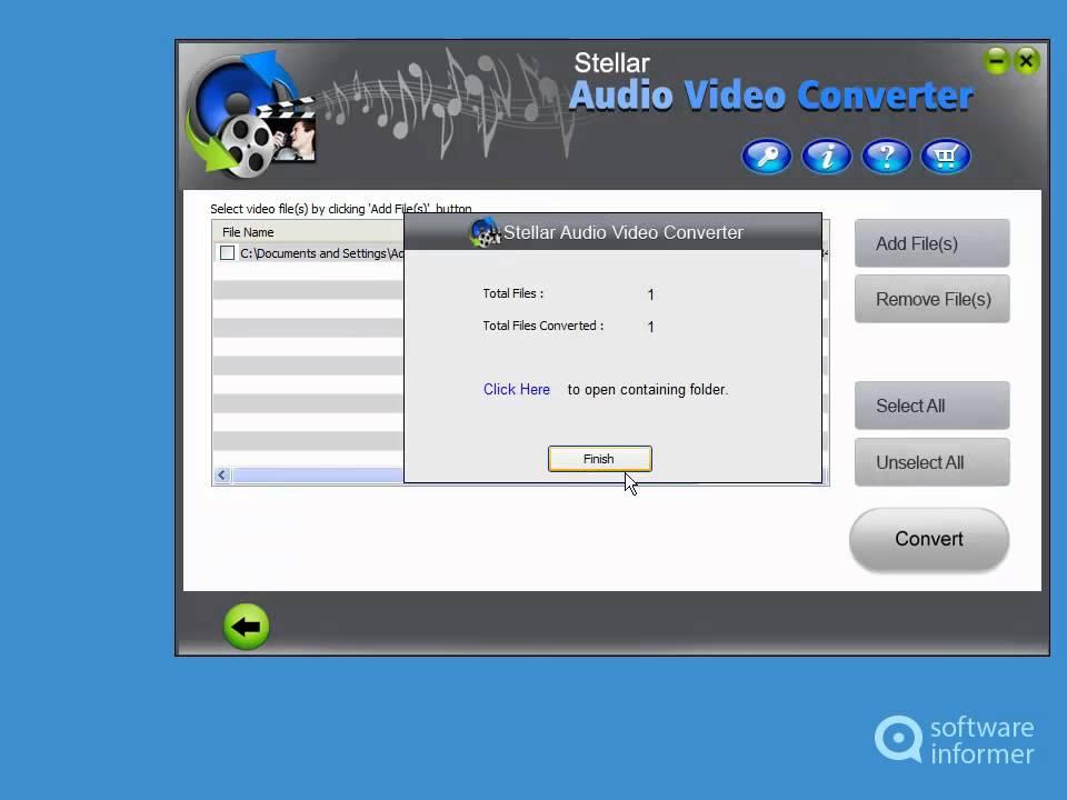 stellar audio converter