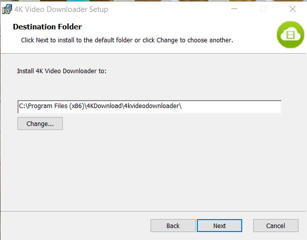 4K Video Downloader Installation Step 3