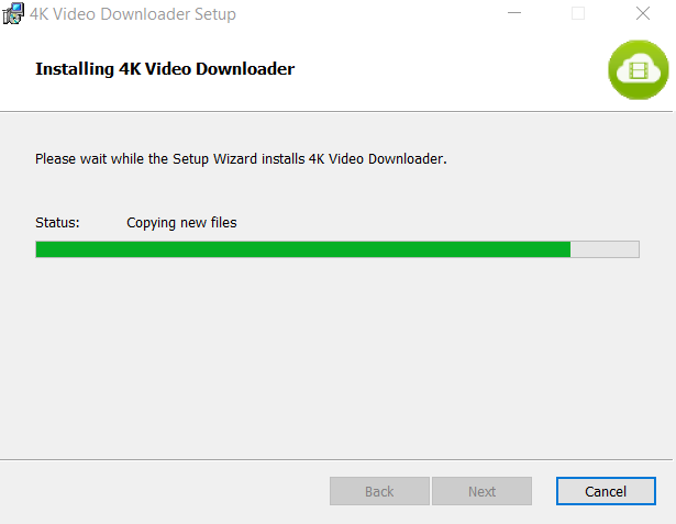 4K Video Downloader Installation Step 4