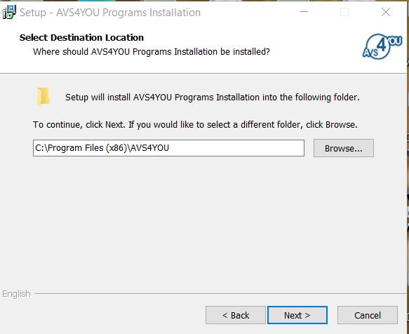 AVS Video Converter Installation Step 3