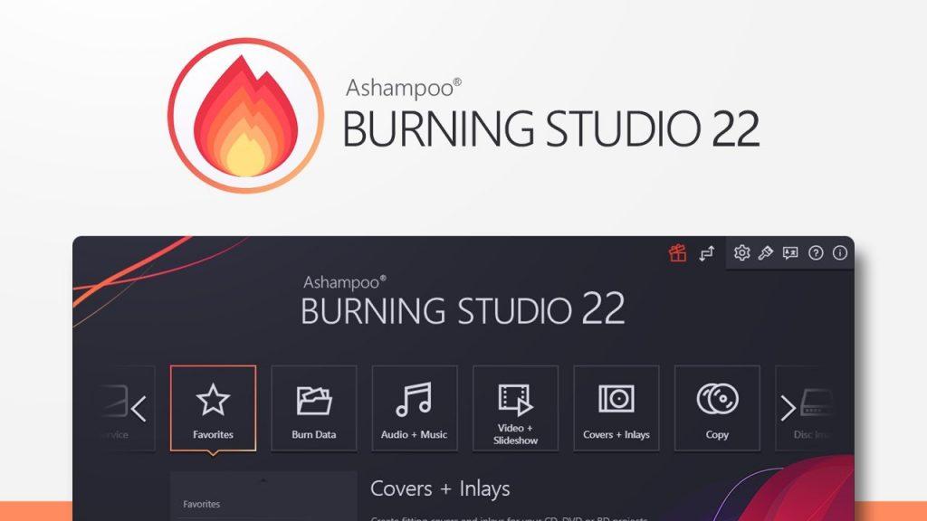 Ashampoo Burning Studio 22 Software