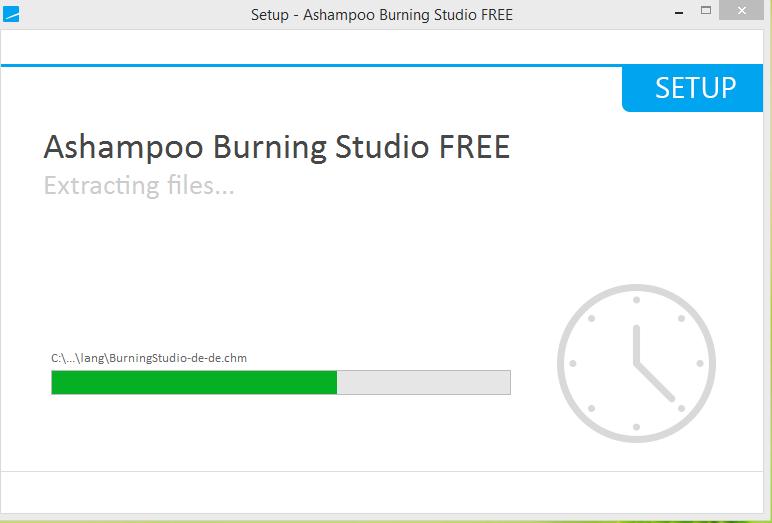 Ashampoo Burning Studio Installation