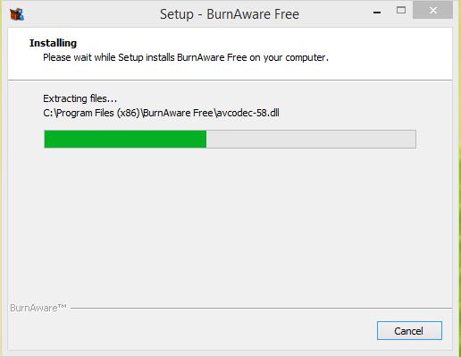 BurnAware Installation