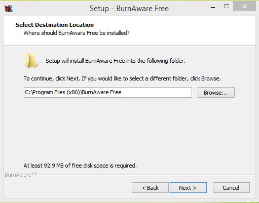 BurnAware Installtion Step 4