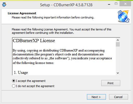 CD Burnber XP Installation Step 2