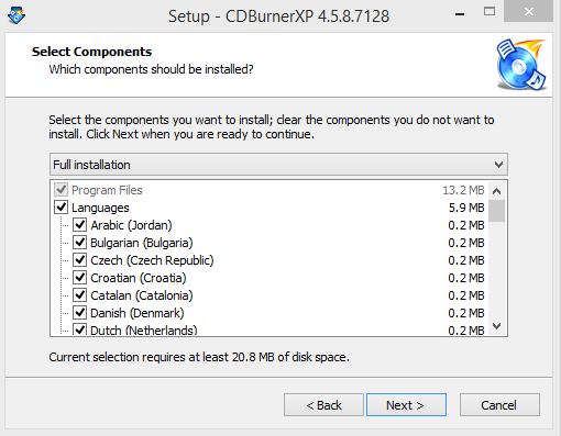 CD Burnber XP Installation Step 3