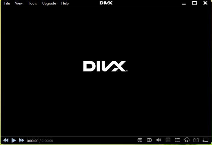 DivX PLayer Interface
