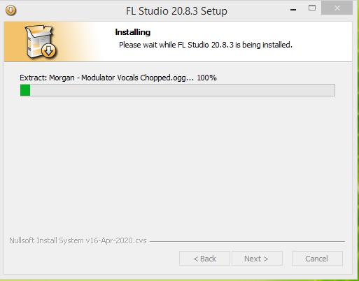 FL Studio Audio Converter Installation Step 6