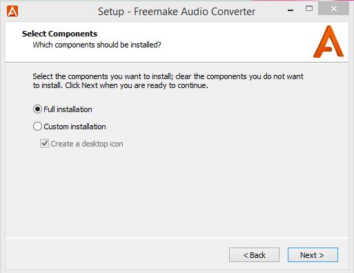 Freemake Installation Step 2