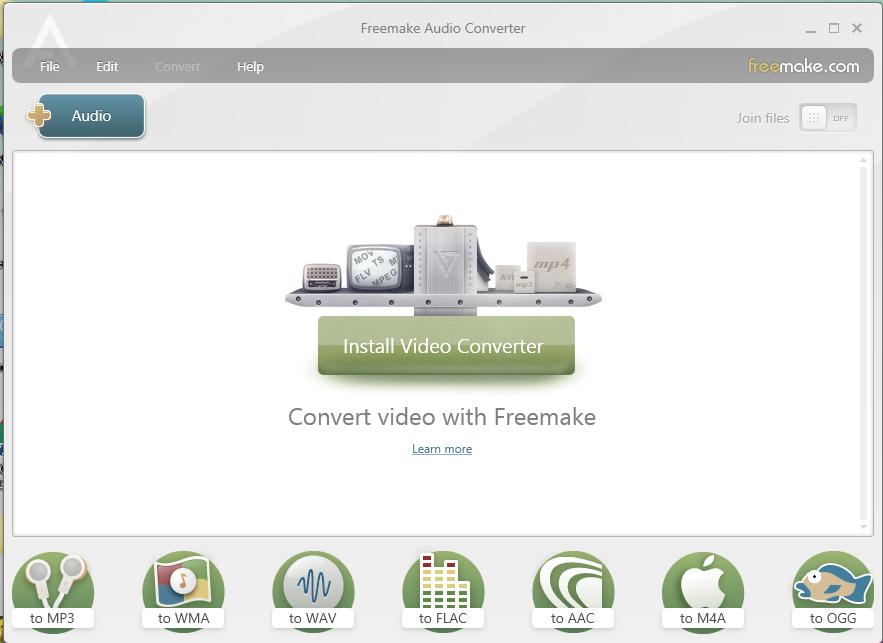 Freemake Interface