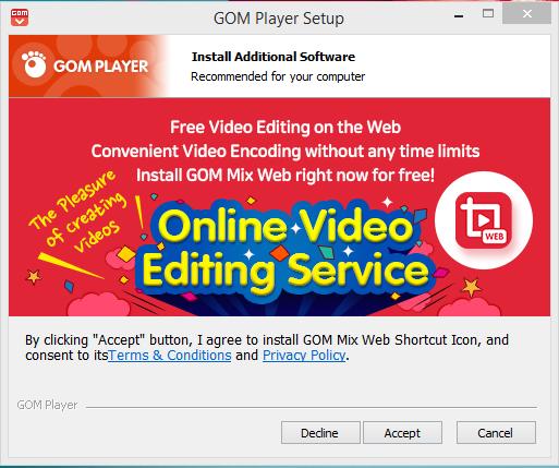 GOM Player Installation Step 5