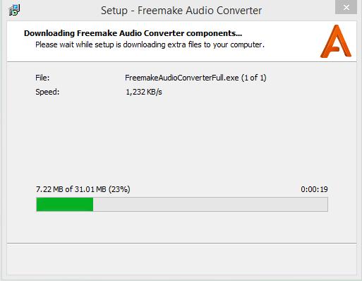 Installing Freemake
