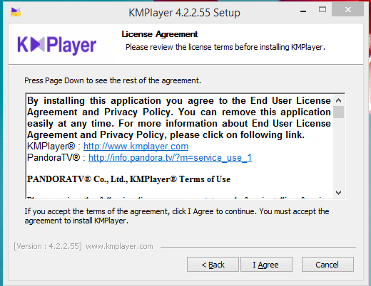 KMPlayer Installation Step 2