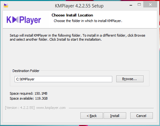 KMPlayer Installation Step 4