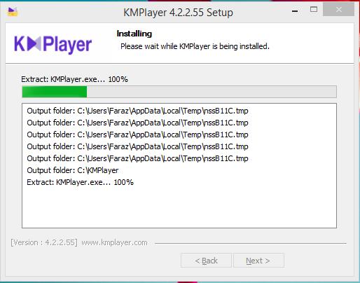 KMPlayer Installation