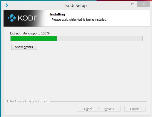 Kodi Player Installation Step 5