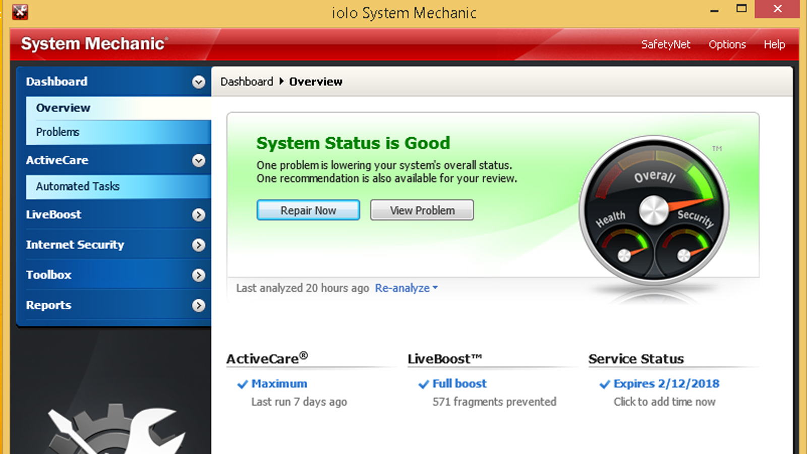 Lolo System mechanic Software