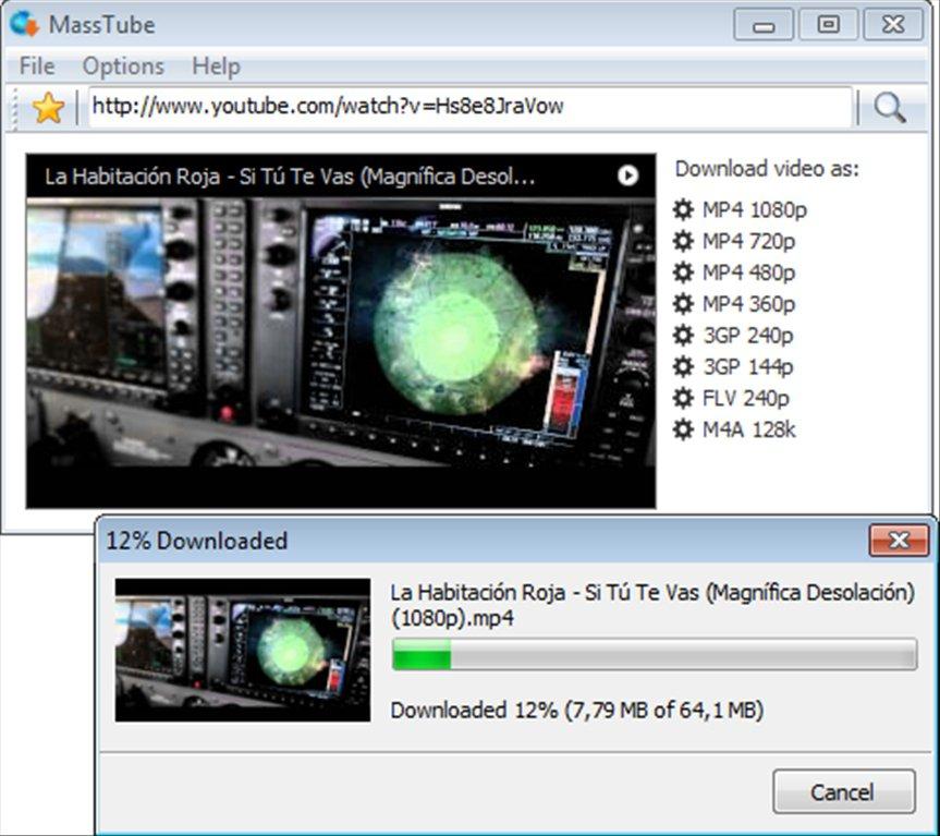 MassTube video downloader
