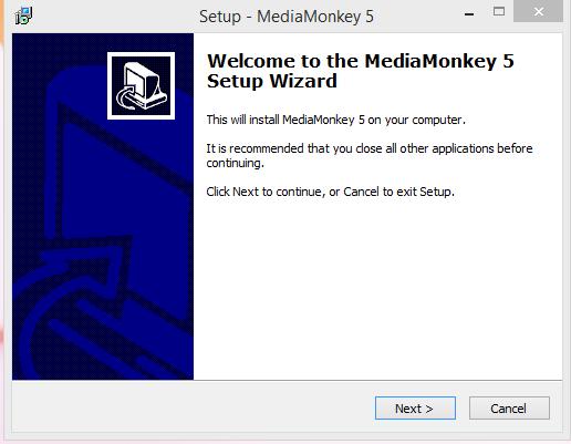 Media Monkey Insterface one