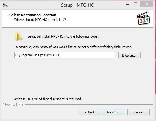 Media Player Classic Installation Step 3
