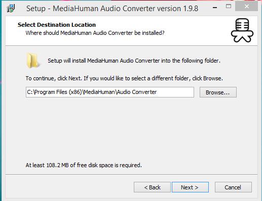 MediaHuman Installation Step 2