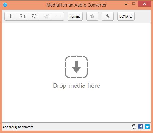 MediaHuman Interface