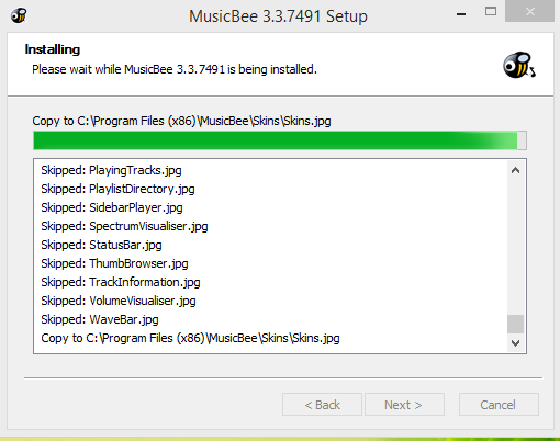MusicBee Player Instalation