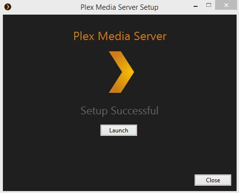 Plex Media Player Done