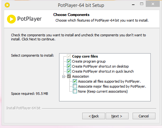 PotPlayer Installation Step 2