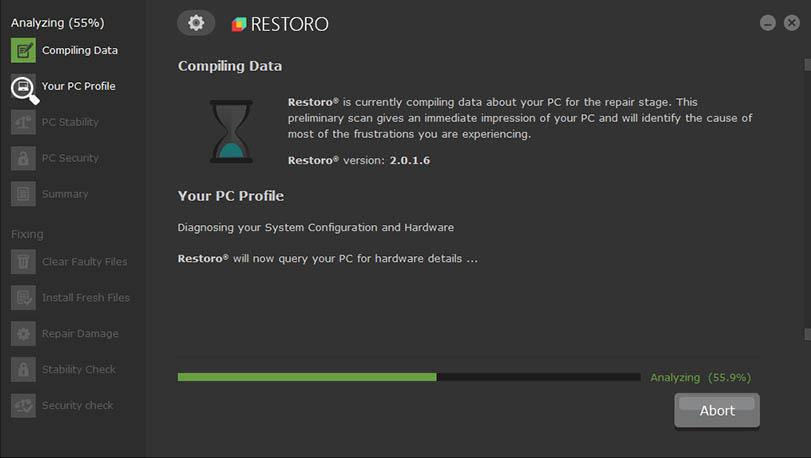 Restoro Cleaner Software