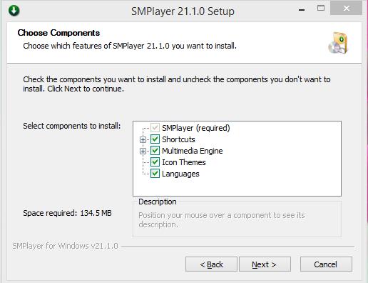 SMPlayer Installation Step 3