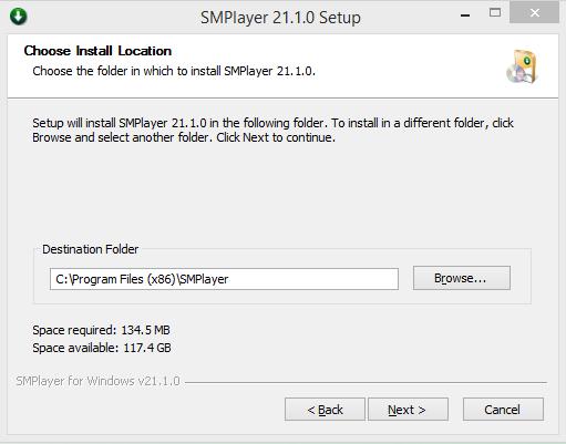 SMPlayer Installation Step 4