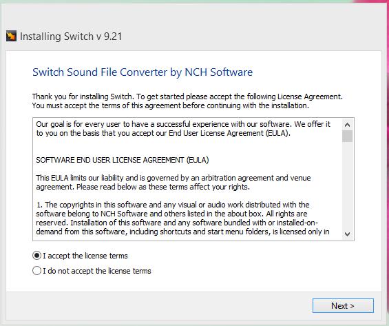 Switch Audio Converter Crack