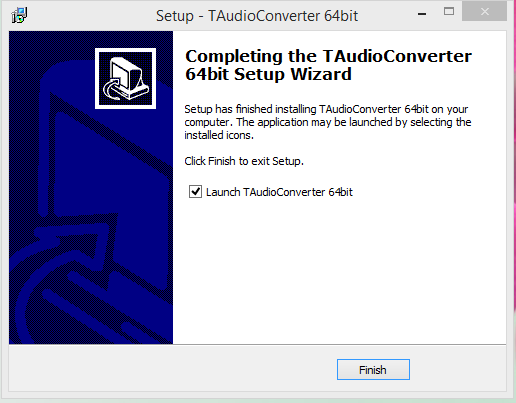 TAudio converter final Step