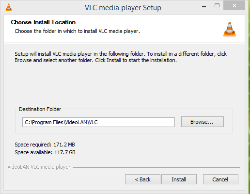 VLC Media Player Installation 3